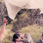 結婚式の演出アイデア 可愛い【コンフェッティ】で二人もゲストも盛り上がろう!