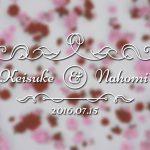 写真のサイズにこだわった結婚式エンドロールビデオ ROSES CLASSIC