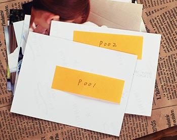 写真の送り方→プリントの場合