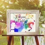結婚式ウェルカムボード4アイテムをリリース