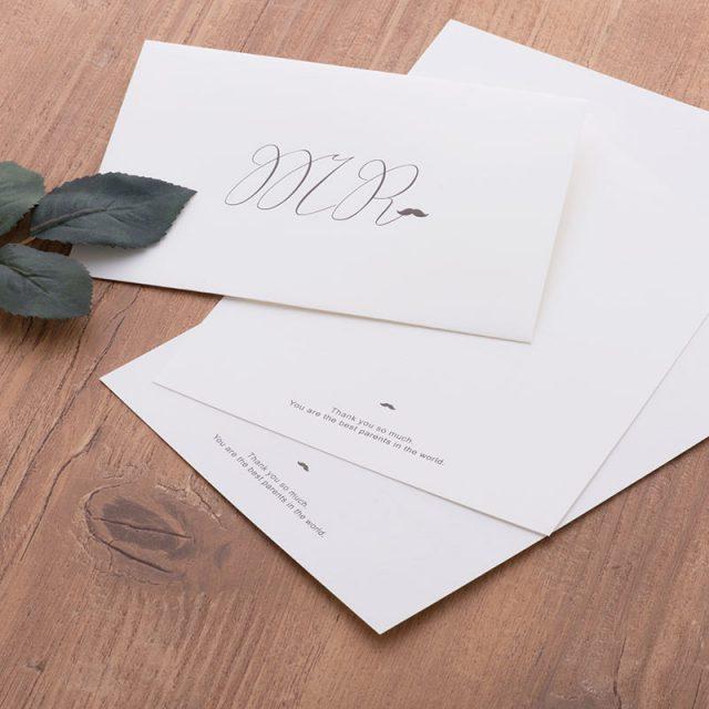 花嫁の手紙・便箋・オリジナルレターセット