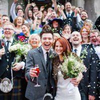 結婚式の集合写真 撮り方アイデア
