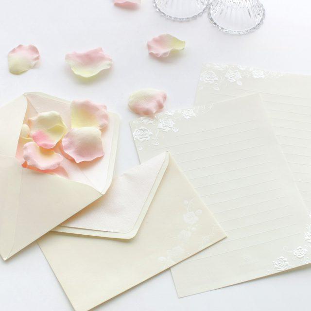 花嫁の手紙 どんな便箋がいいの? マナー&おすすめ紹介!