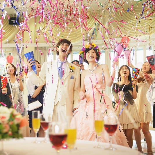 ゲストの心に残る結婚式にしたい!面白い演出アイデア10選